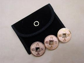 六爻占術は3枚のコインで未来を占う